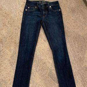 DL1961 Angel Mid-Rise Skinny Ankle Jeans Size 25
